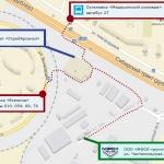 Как добраться до МФСК-групп на общественном транспорте